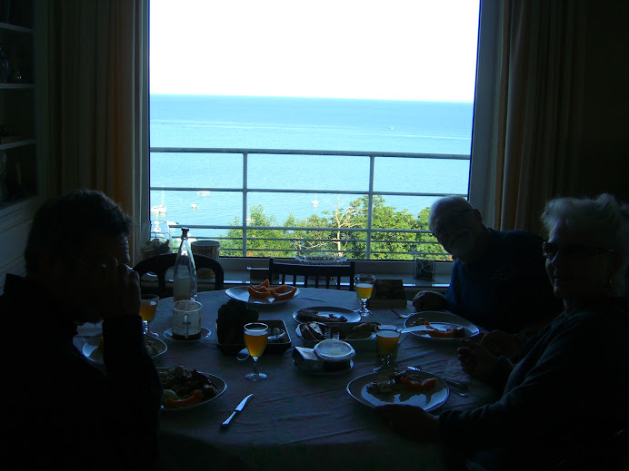 The best dining view was right from our own dining room!
