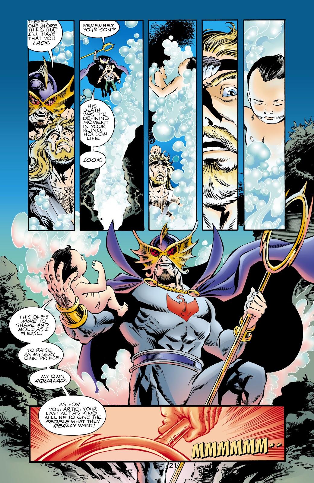 Aquaman (1994) Issue #67 #73 - English 21