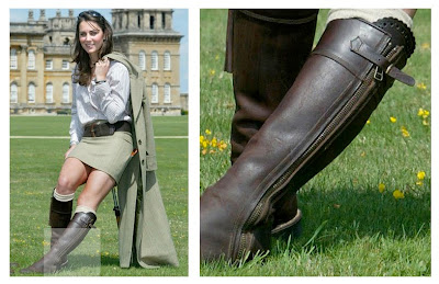 Wild Swans Kate Middleton in Penelope Chilvers Boots