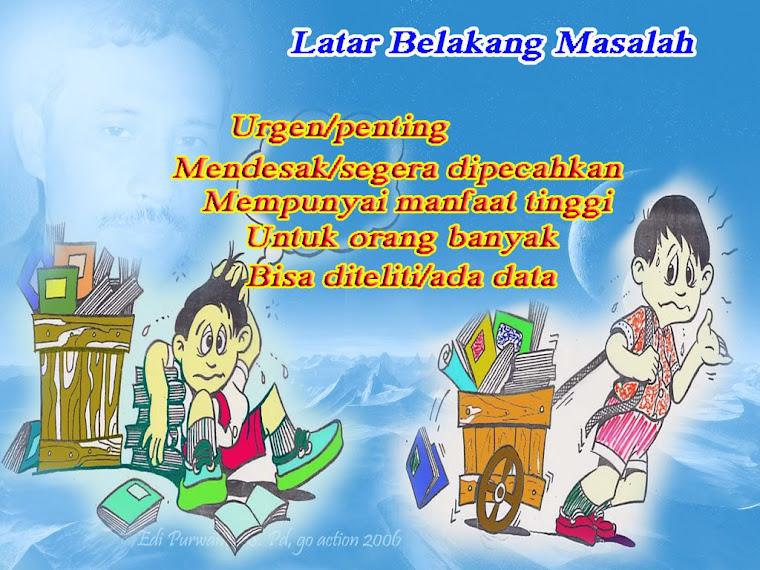 LATAR BELKANG MASALAH