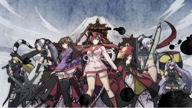 Hyakka Ryoran Samurai Girls
