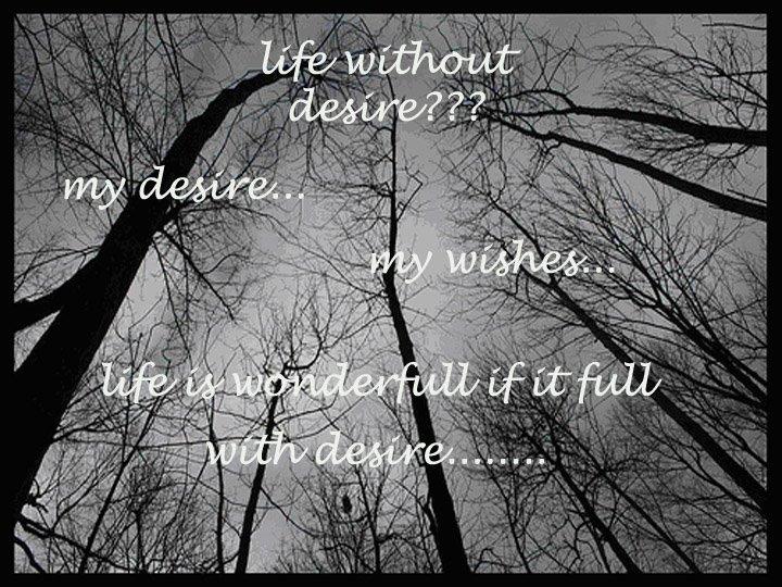 -my desire-