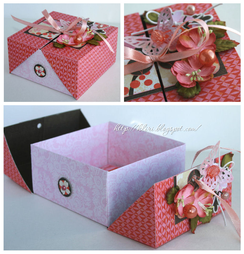 Как сделать своими руками подарочную коробку / KNITLY 46