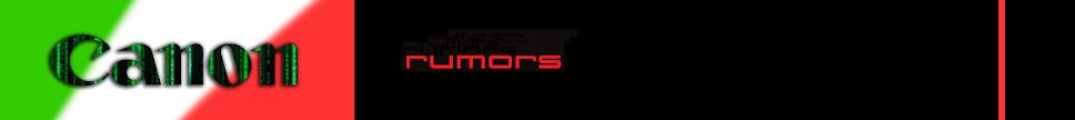 CANON RUMORS ITALIA