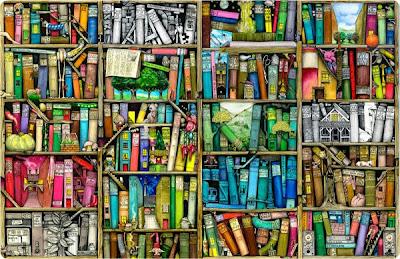 Colin Thompson's Bookshelf