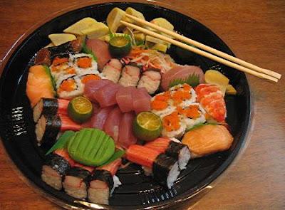 Kitaro sushi platter