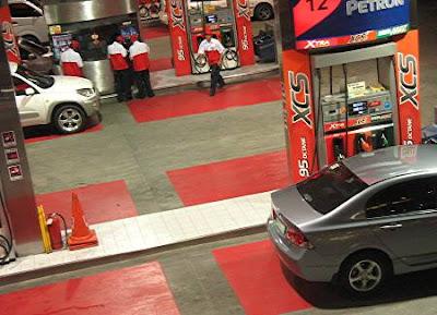 Petron gas station