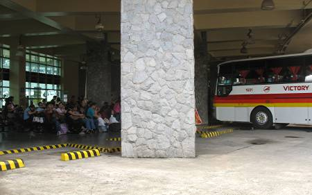 Victory Liner bus terminal in Baguio City