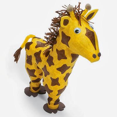 Как самому сделать жирафа