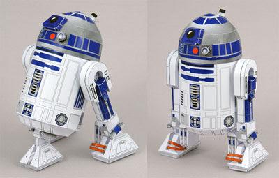R2 D2 papercraft