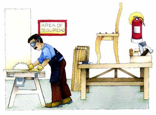 Angeles condiciones de trabajo for Recomendaciones ergonomicas para trabajo en oficina
