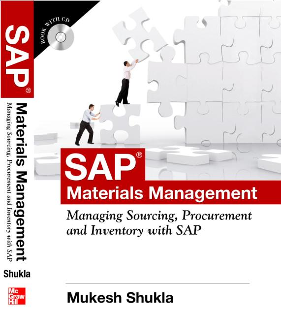 Sapbymukesh quesionnaire asap business blueprint sap mm book authored by mukesh shukla and published by tata mcgraw hill malvernweather Gallery