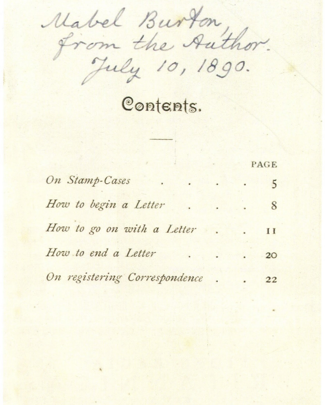 Phrases To Sign Letters And Emails In Italian Mabel Burton, The Recipient  Of This Copy