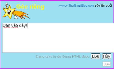 Hướng dẫn chèn code lên blog  Picture