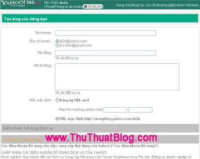 Hướng dẫn sử dụng Yahoo! 360 Plus  1taoblog
