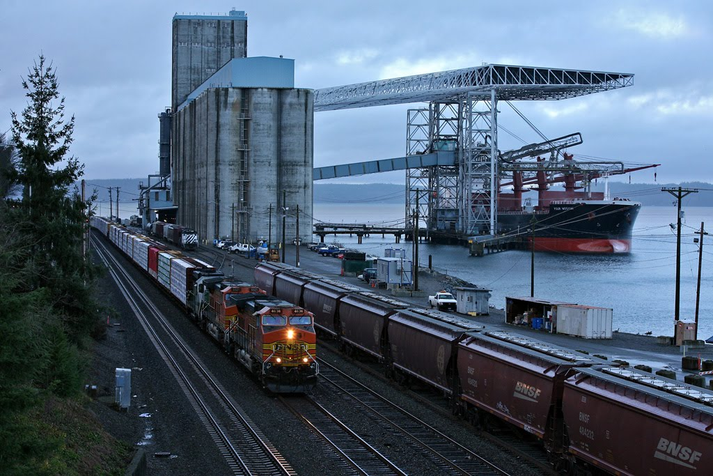 TEMCO Tacoma grain facility