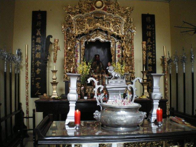 El salón del templo