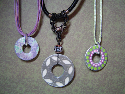 Accentuate n ink more washer pendant jewelrywas supposed to be i came back to this post to add the washer pendants i had drying these are soooo cool you just dab your ranger alcohol inks onto the washer aloadofball Images