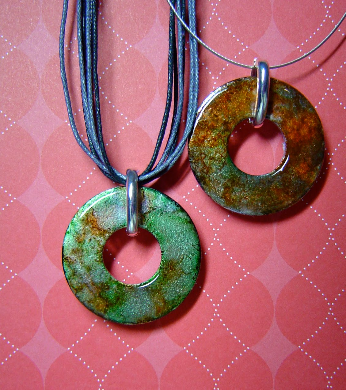 Accentuate n ink more washer pendant jewelrywas supposed to friday november 13 2009 aloadofball Choice Image