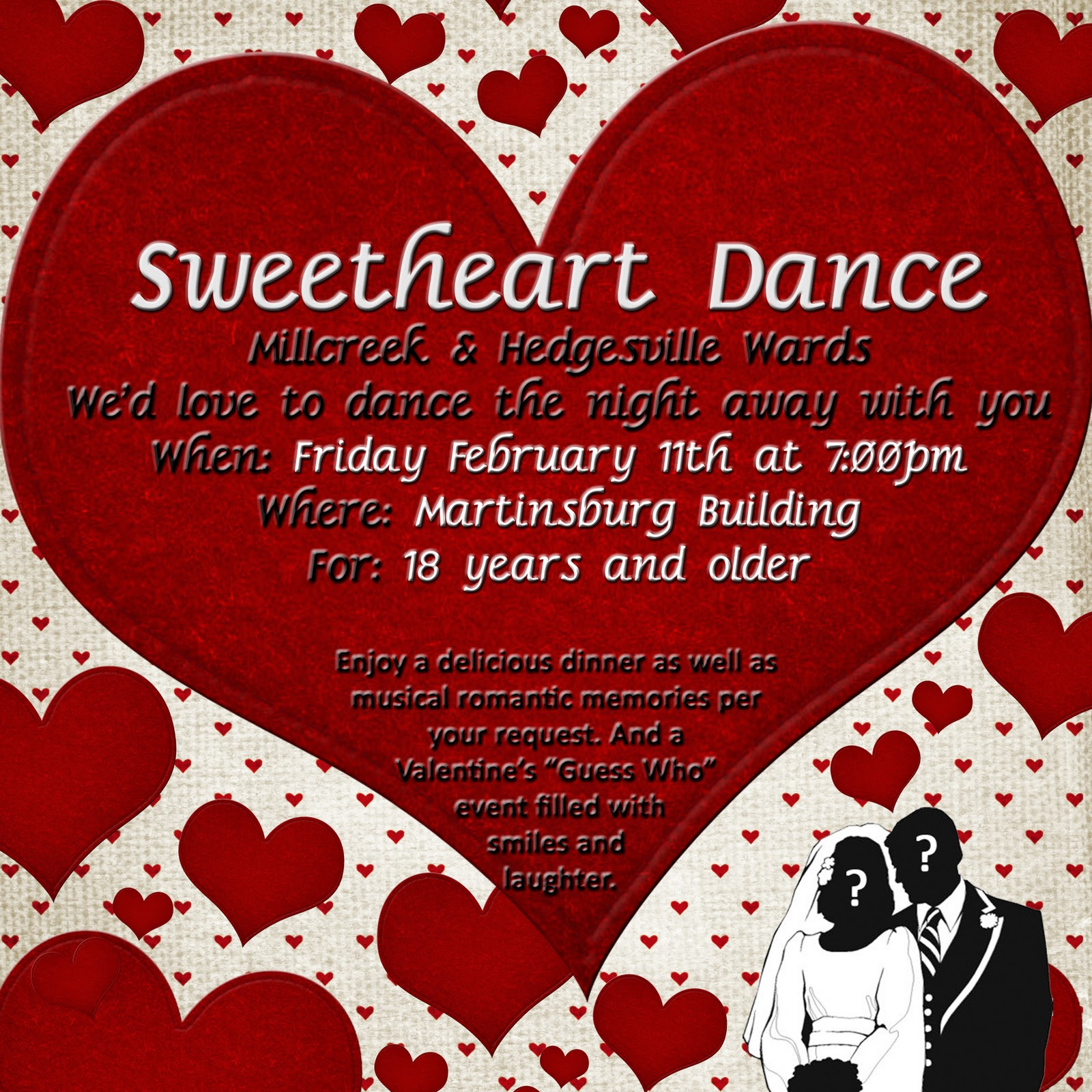 Hedgesville ward relief society sweetheart dance