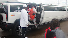 JV TEAM ARRIVES AT HOME COMING GAME IN A HUMMER LIMO TO WIN 7th STRAIGHT GAME