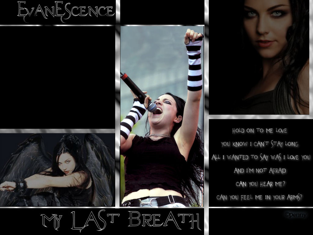 evanescence  lyrics