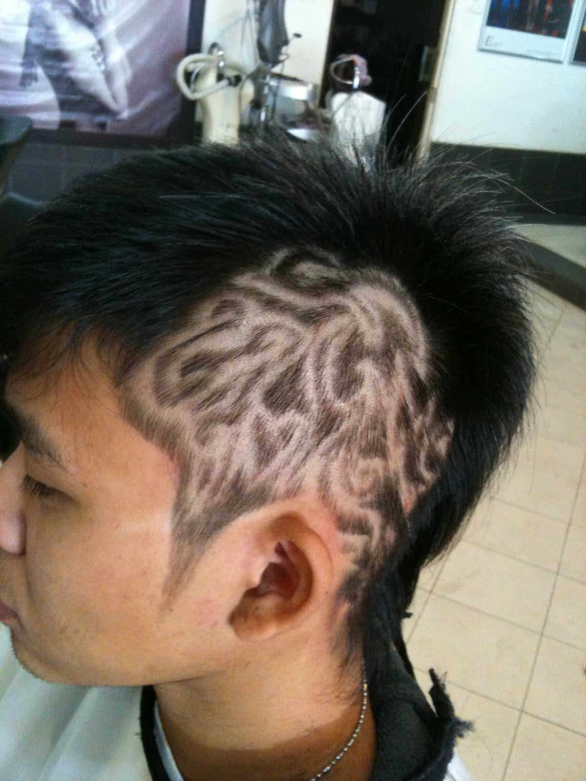 A k a smart 2 idiot my new hair tattoo for Hair tattoo cost