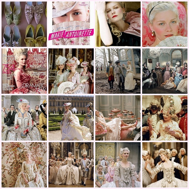 marie antoinette fashion history. movies Marie Antoinette
