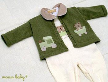 roupinha de bebê para menino de ursinho