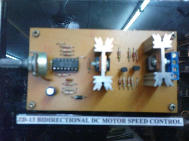 Projek elektronik bi directional dc motor speed control for Small dc motor speed control