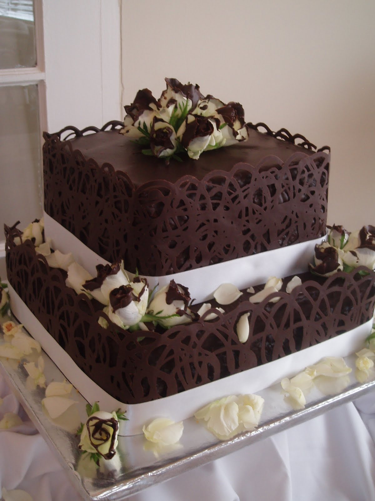 Nelie s Decadent Cakes: Dave & Wendy s Wedding Cake
