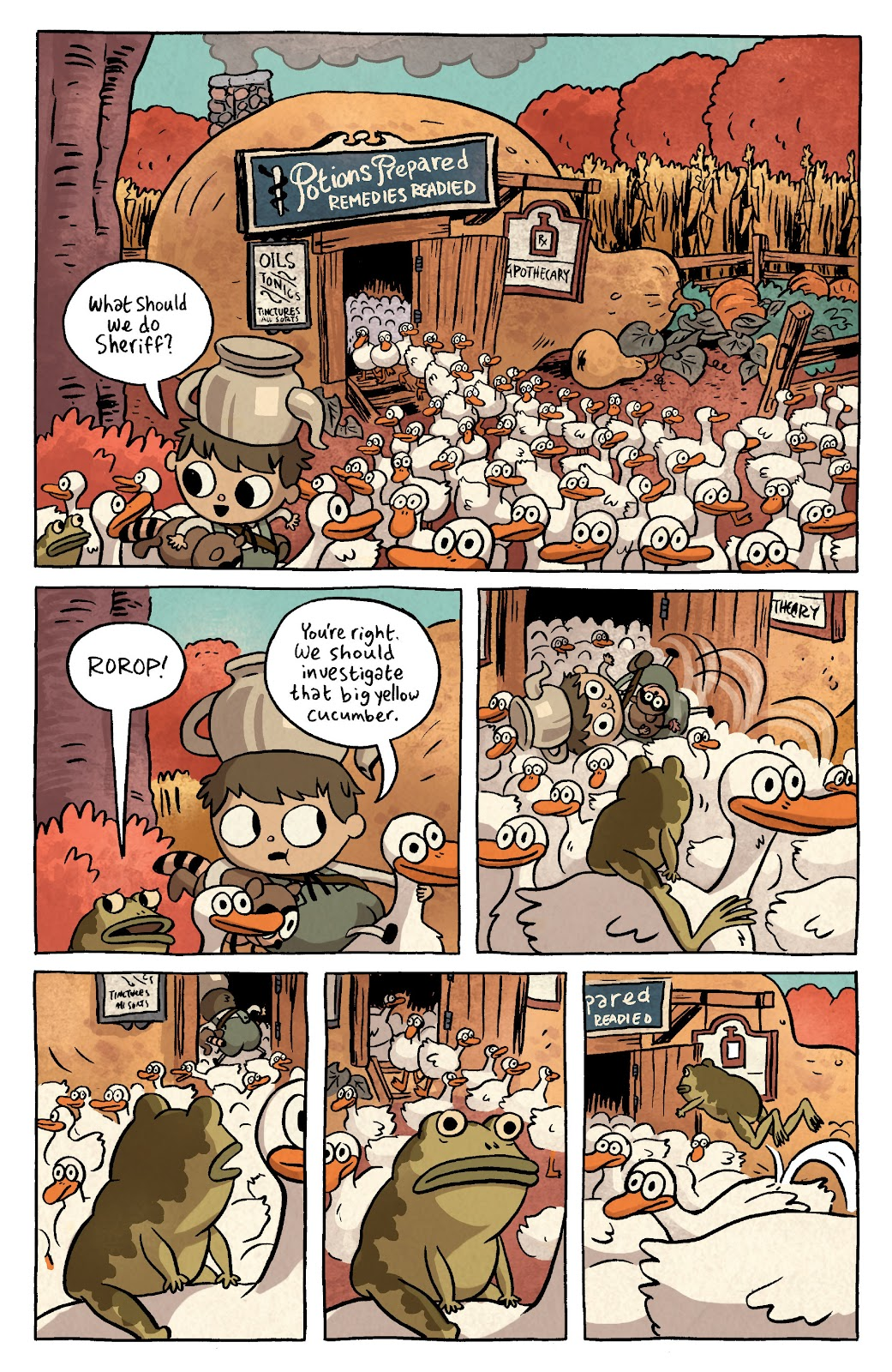 Over the Garden Wall (2016) Issue #3 #3 - English 7