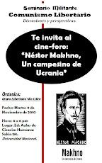 """Cine-Foro: """"Néstor Makhno. Un Campesino de Ucrania"""""""