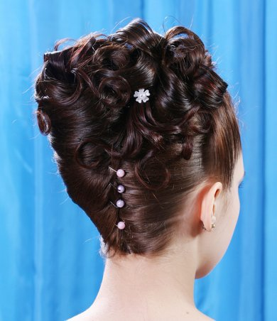 natural black hairstyles for weddings