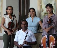 """Primera Audición en Panamá del """"Cuarteto para el Fin de los Tiempos"""". Julio 13 de 2008."""