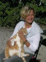 Sonja med tjock katt
