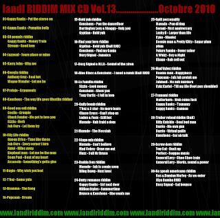 InI_Riddim_MIX-CD_Vol.13_Playlist_Verso.