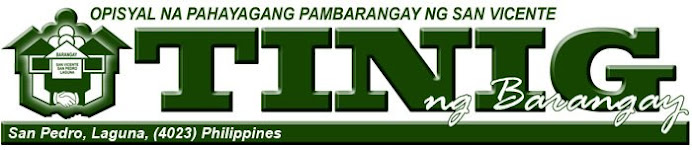 TINIG NG BARANGAY