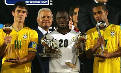 Giuliano Dominic Adiyiah and Alex Teixeira win FIFA U-20 awards
