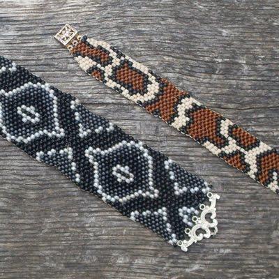 Loom Woven Seed Bead Cuff Bracelets - Utah Education Network