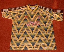 Camiseta alternativa de Arsenal