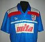 Camiseta Atlético Madrid 1989/1990