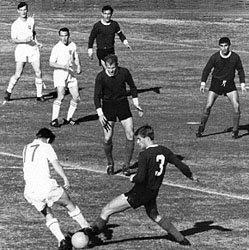 Argentina - Inglaterra en el Mundial Chile 1962