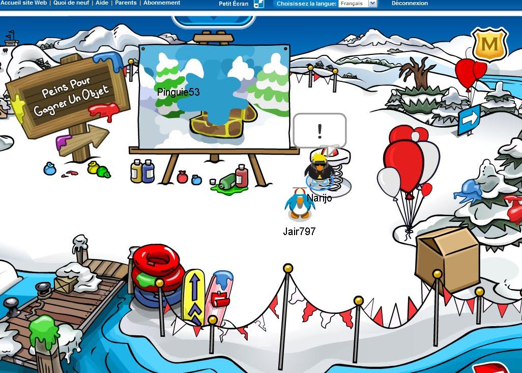 Info club penguin avec narijo le poisson d 39 avril les - Club penguin gratuit ...
