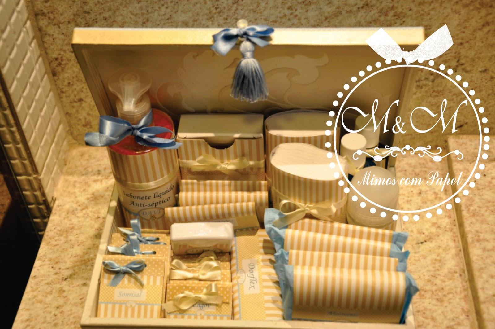 Kit para o banheiro personalizado #B67815 1600 1062