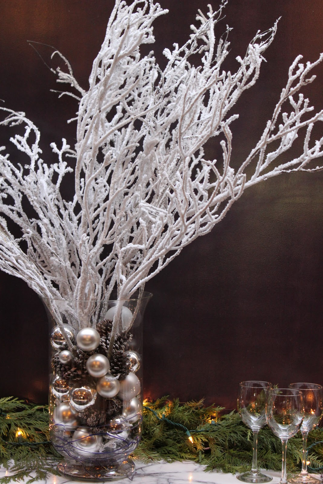 Winter Decorations At Vincenti Eat
