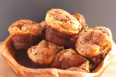 Herbed cheese popovers