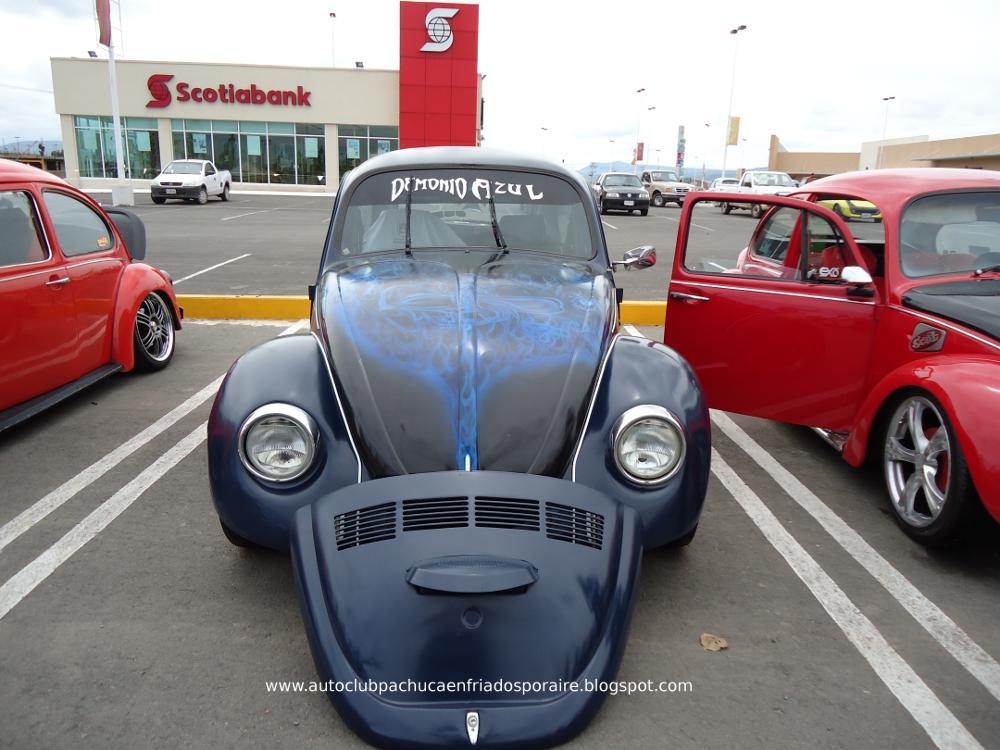 Auto Club Pachuca Enfriados por Aire 2.0: Evento vochero en ...