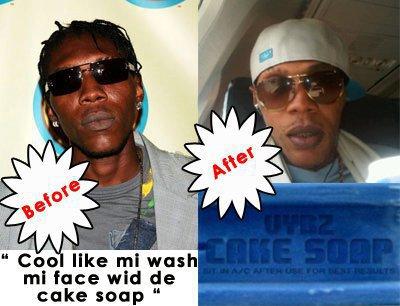 what is cake soap bleaching. Mi Face Wid Di Cake Soap!quot;