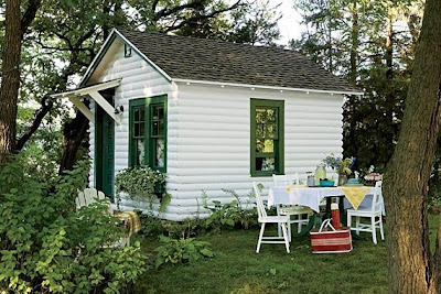 Little backyard bungalows are my fave you are my fave for Backyard guest cottage